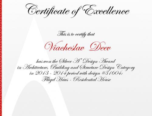 Flügel House Award 31604
