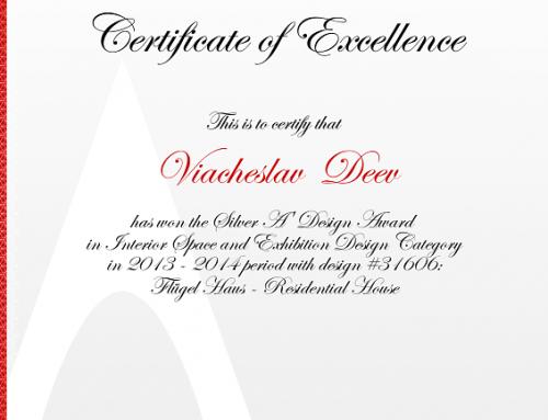 Flügel House Award 31606